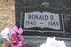 "Ronald D ""Ron"" Wood"