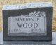 Marion Francis <I>Ott</I> Wood