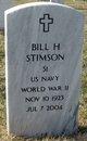 Profile photo:  Billy Harold Stimson