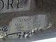 Mary Alva <I>Broom</I> Moore