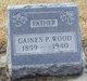 Gaines P Wood