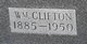 """William Clifton """"Clif"""" Wood"""