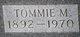 Tommie Myrtle <I>Bolinger</I> Wood
