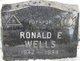 Ronald E Wells