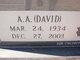 "Profile photo:  A. A. ""Davey"" Crockett"