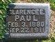 Clarence Paul