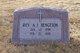 Profile photo: Rev A J Bengtson