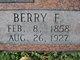 Berry F. Alexander