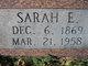 Sarah E. Alexander