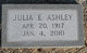 Julia <I>Ellis</I> Ashley