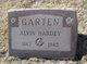 Profile photo:  Alvin Hardy Garten