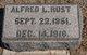 Profile photo:  Alfred L. Rust
