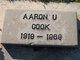 Profile photo:  Aaron Utley Cook