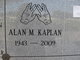 Alan M Kaplan