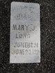 Mary J Long