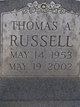 Thomas A Russell