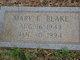 Mary E Blake