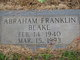 Abraham Franklin Blake