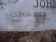 Georgia Alice Johnson