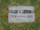 Willie Harrison Lipscomb