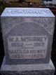 William A McKinney