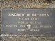 PFC Andrew W Rayburn