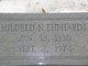 Mildred N. <I>Newton</I> Ehrhardt
