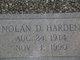 Nolan D Harden