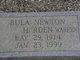 Bula <I>Newton</I> Harden-Warren