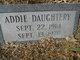 Profile photo:  Addie Daughtery