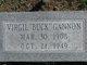 "Virgil Ozell ""Buck"" Gannon"