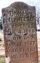 Thomas Blackwelder