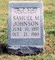 Samuel Minnic Johnson