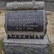 Lamira F <I>Andrews</I> Ackerman