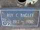 Profile photo:  Roy C. Bagley