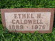 Ethel <I>Hartzell</I> Caldwell