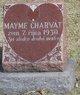 Profile photo:  Mayme Charvat