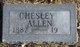 Profile photo:  Chesley Allen