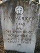 F M Parker