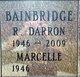 Profile photo:  Richard Darron Bainbridge