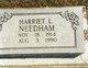 "Harriett L. ""Hattie"" Needham"