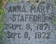 Anna Mary Stafford