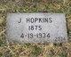 """Julius """"Jule"""" Hopkins"""
