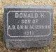 Donald H Ackerman
