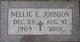 Nellie Eleanor <I>Engstrom</I> Johnson