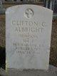 Clifton C Albright