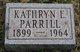 "Kathryn Elizabeth ""Katie"" <I>Nagel</I> Parrill"