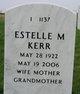"Estelle Mae ""Stelle"" <I>Nagel</I> Kerr"