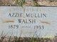 Profile photo:  Azzie <I>Mullin</I> Walsh