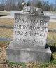 Cora Marie Abercrombie